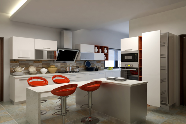 Kitchen Designs In Islamabad, Pakistan